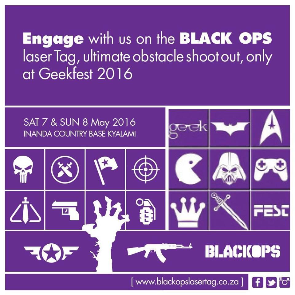 Black Ops Laser Tag