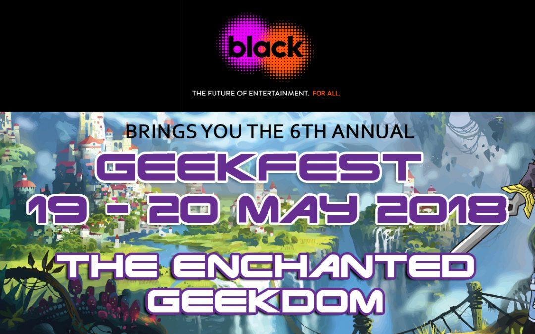 GeekFest 2018's Schedule of events